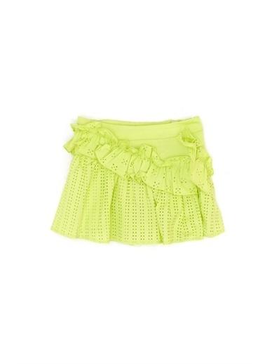 BG Baby Kız Bebek Neon Yeşil Etek Yeşil